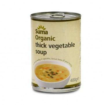 Organic Rustic Vegetable  Soup 400g