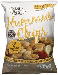 Cofresh Hummus Chips - Lemon & Chilli 40g