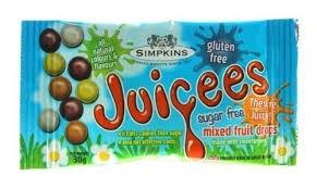 Juicees Sugar Free Mixed Fruit Drops 30g