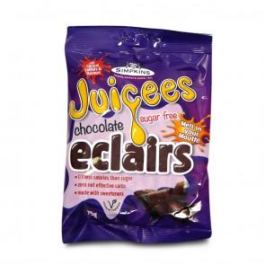 Simpkins Sugar free Chocolate Eclairs 75g