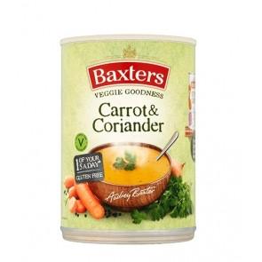 Baxters Carrot & Coriander soup 400g
