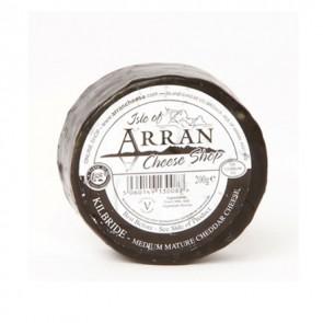 Arran Kilbride cheddar cheese 200g truckle