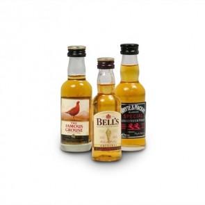 Miniature Scotch Whisky - 3 pack